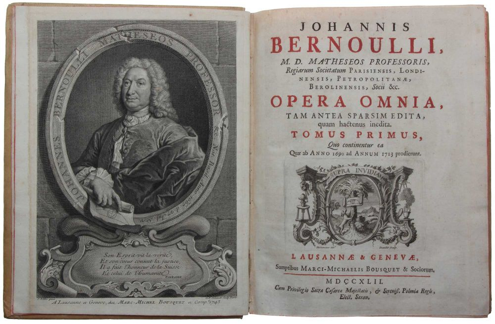 johann bernoulli essay Johann bernoulli had planned on becoming the bernoulli's paper was subsequently accepted in 1726 when the académie considered papers bernoulli, johann.