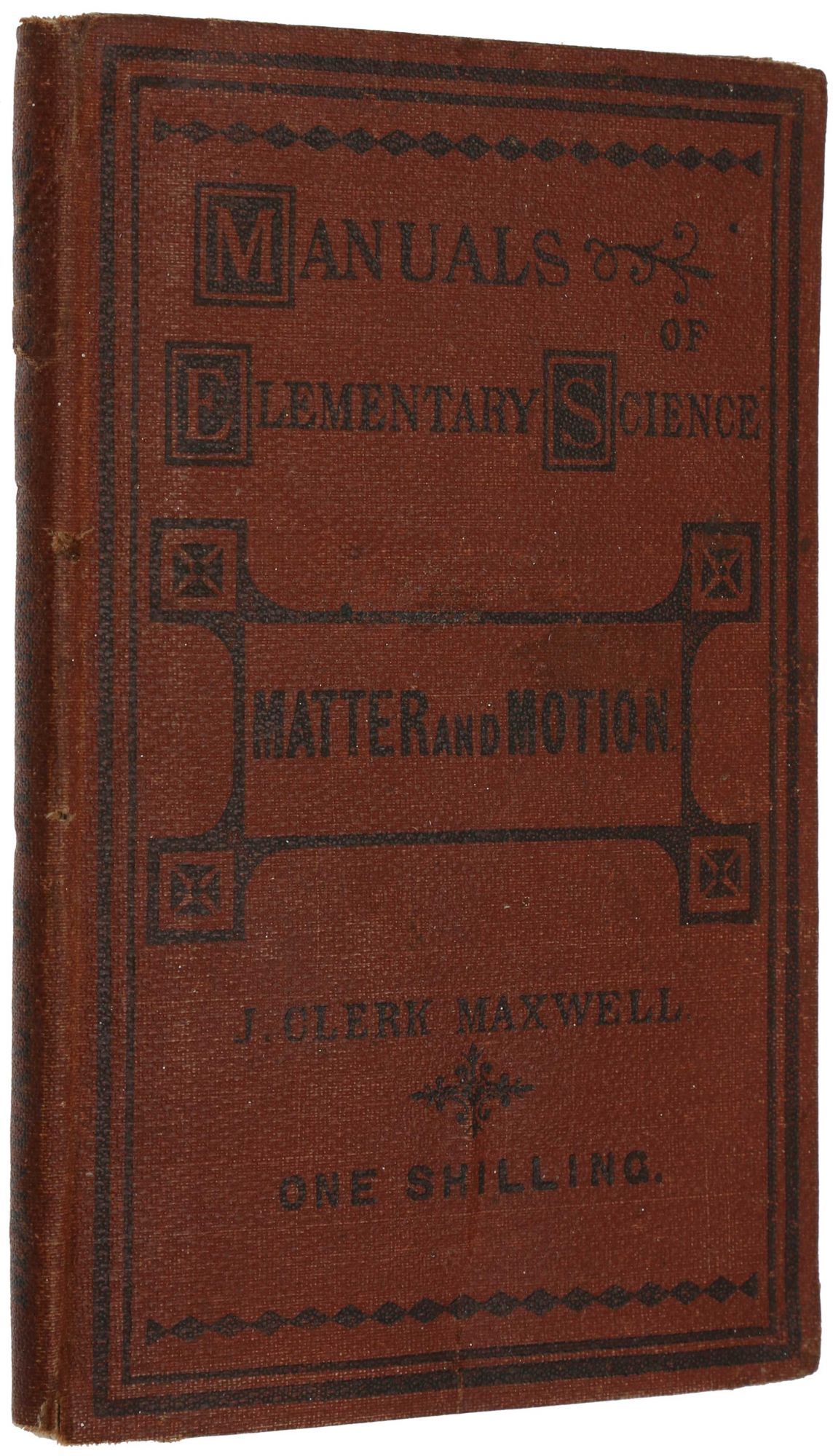 Matter and Motion. James Clerk MAXWELL.