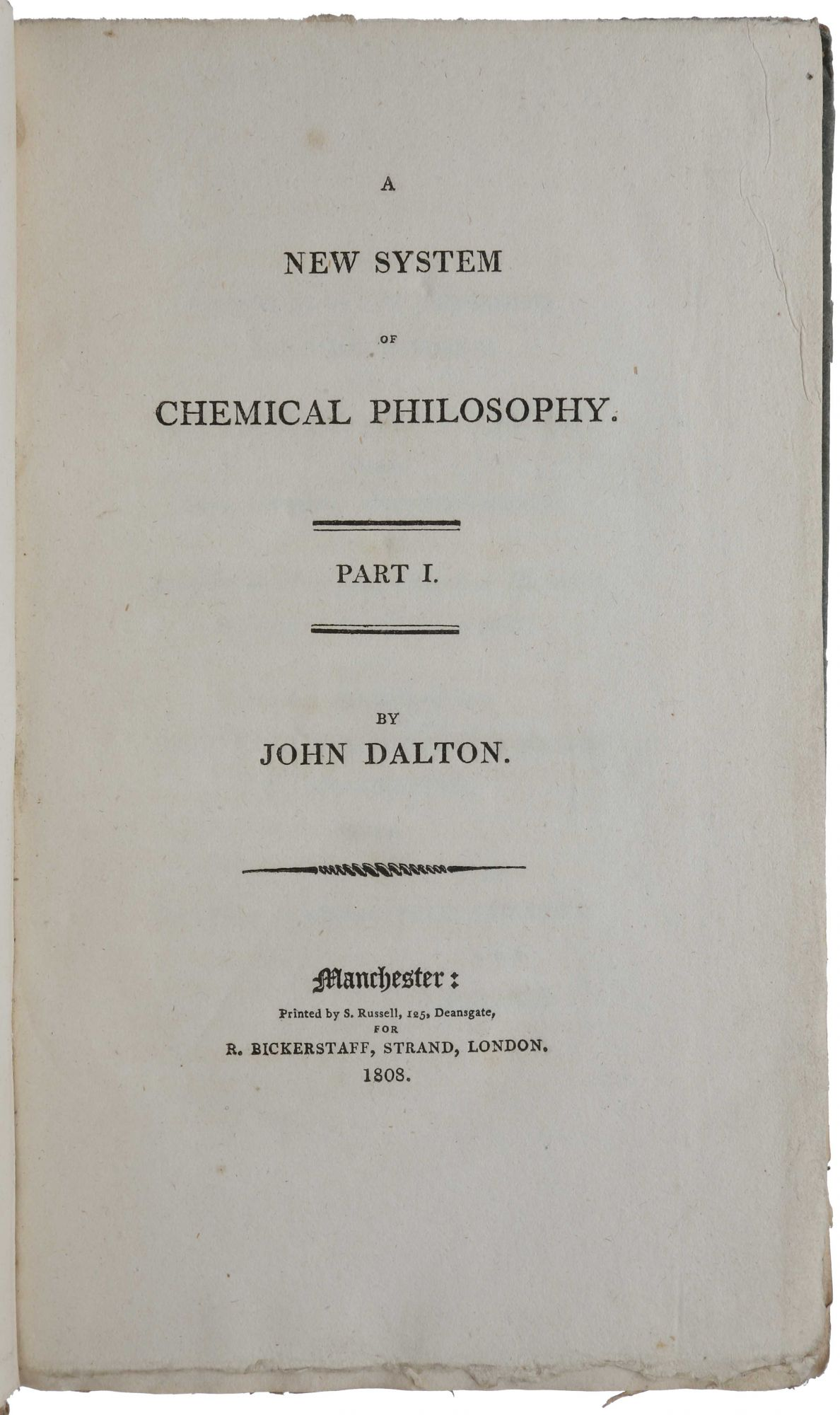 an analysis of the atomic theory of matter by john dalton Definition of john dalton proposes his atomic theory and lays the foundation of modern chemistry the atomic theory of matter as proposed by john dalton in his new system of chemical philosophy (part i,1808 as methods for the analysis of compounds had been refined.