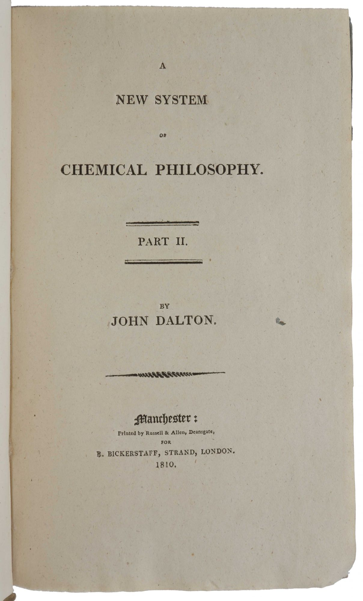 A new system of chemical philosophy john dalton a new system of chemical philosophy urtaz Gallery