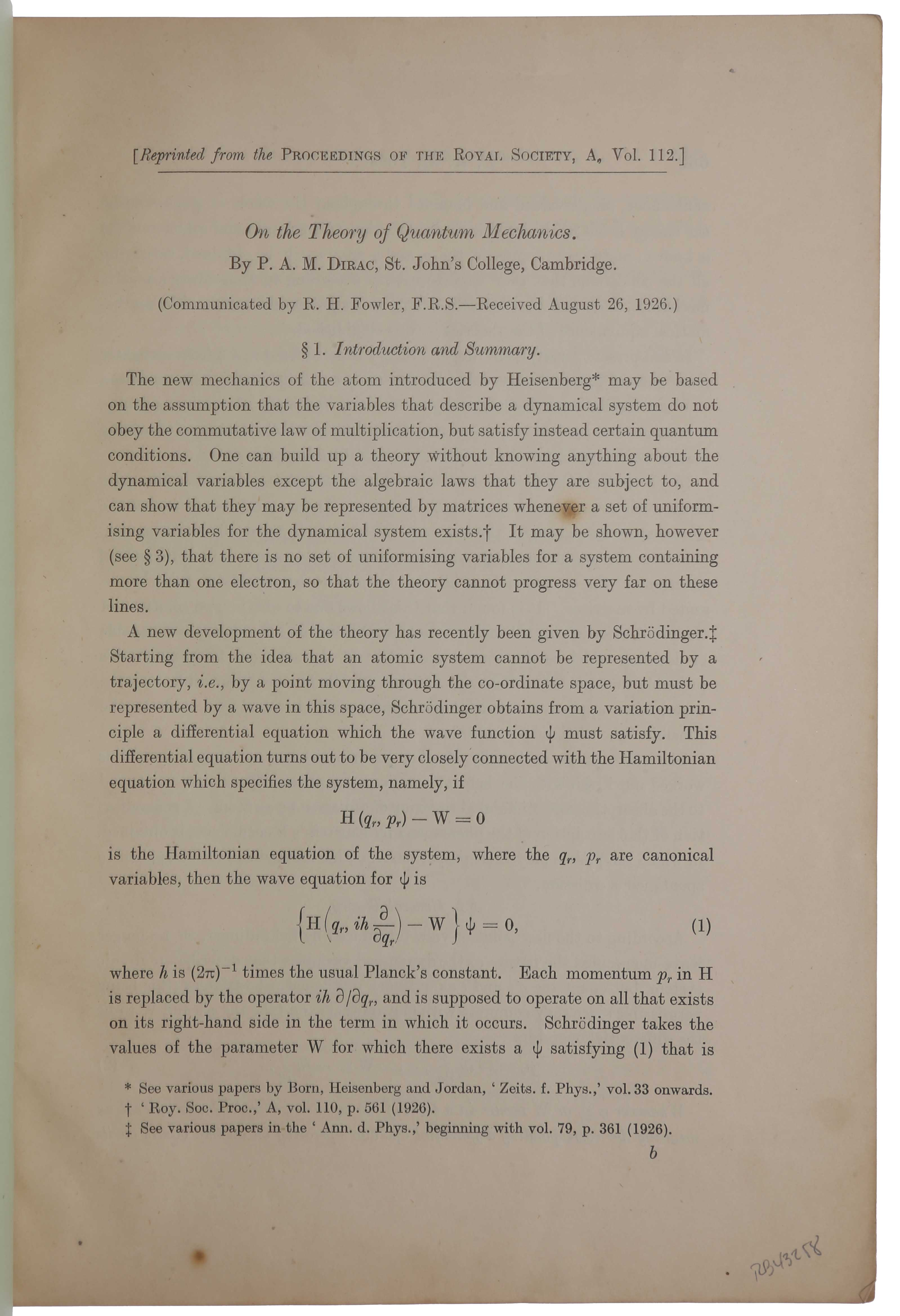 planck papers