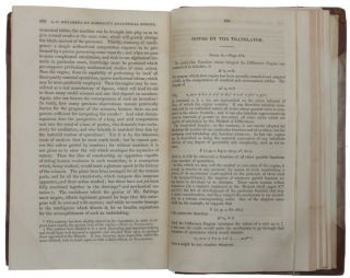 Sketch of the Analytical Engine invented by Charles Babbage [by L.F. Menabrea, translated, and appended with additional notes, by Augusta Ada, Countess of Lovelace].