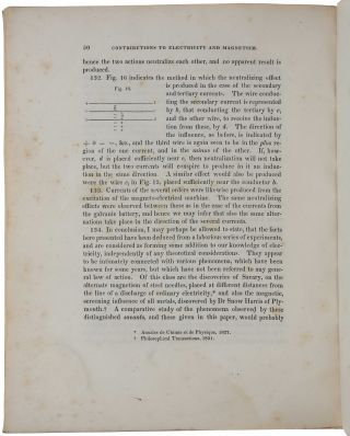 Contributions to Electricity and Magnetism. No. III. - On Electro-Dynamic Induction. Read Novemb. 2, 1838. Extracted [i.e., offprint] from the Transactions of the American Philosophical Society, Vol. 6.