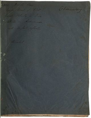Account of observations made with a twenty-feet reflecting telescope: Comprehending, 1. Descriptions and approximate places of 321 new double and triple stars. 2. Observations of the second comet of 1825. 3. An account of the actual state of the great nebula in Orion, compared with those of former astronomers. 4. Observations of the nebula in the girdle of Andromeda.