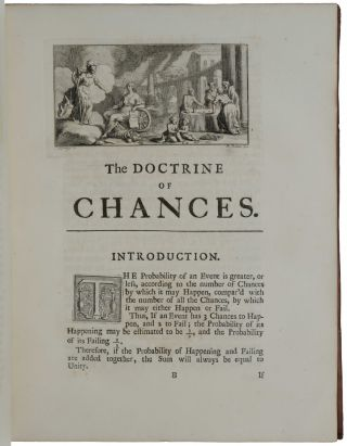 The Doctrine of Chances: or, A Method of Calculating the Probability of Events in Play.