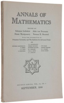 'The Word problem in Semi-groups with Cancellation,' pp. 491-505 in Annals of Mathematics, Second...