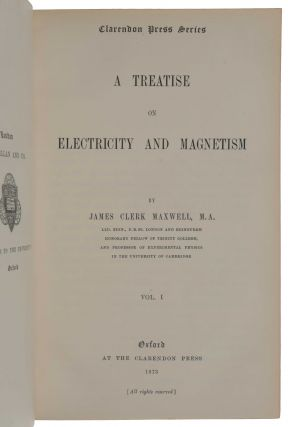 A Treatise on Electricity and Magnetism.