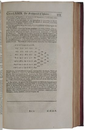 A treatise of algebra: both historical and practical... With some additional treatises, I. Of the Cono-cuneus . . . II. Of angular sections; and other things relating thereunto, and to trigonometry. III. Of the angle of contact... IV. Of combinations, alternations, and aliquot parts.