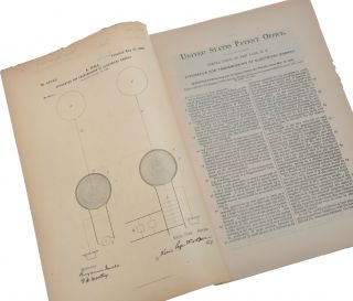 Collection of 50 original patents.