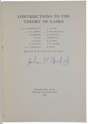 'A simple three-person poker game,' pp. 105-116 in: Contributions to the Theory of Games,...