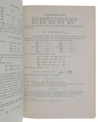 'A simple three-person poker game,' pp. 105-116 in: Contributions to the Theory of Games, Volume I. Annals of Mathematics Series, No. 24.