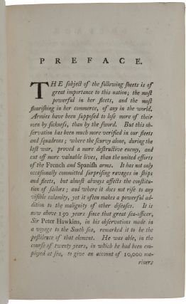 A Treatise of the Scurvy, in three parts. Containing an inquiry into the Nature, Causes, and Cure, of that Disease. Together with a Critical and Chronological View of what has been published on the subject …