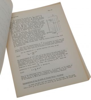Quantum Electrodynamics and Meson Theories. Notes on the Lectures by Professor Richard P. Feynman, Cornell University. Given at the California Institute of Technology, Pasadena, California, February 6 to March 2, 1950. Prepared by Carl W. Helstrom and Malvin A. Ruderman.