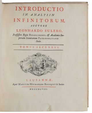 Introductio in analysin infinitorum.