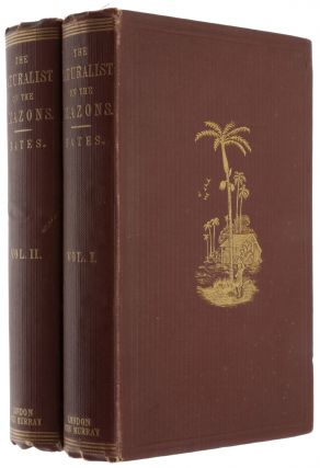 The naturalist on the River Amazons, a record of adventures, habits of animals, sketches of...