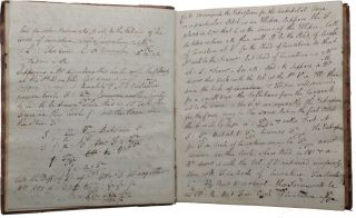 Plain Astronomy. Manuscript volume of notes on practical astronomy and mathematics.
